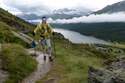 Las Adidas Response Trail en la Swiss Iron Trail 146k del 2014.
