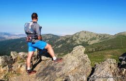 Adidas Response Trail 21 en crestas del Guadarrama, de Peñota a Montón de Trigo.