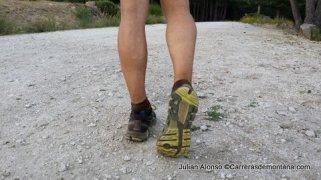 Zapatillas trail running Reebok One Cushion en el escenario de las pruebas
