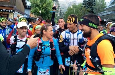 Salida TDS2014: Nerea Martínez, Arnau Juliá y Juan María Jiménez
