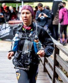 Francesca Canepa subcampeona Buff Epic Trail 2014
