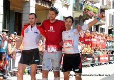 UTMB 2014: 1º Franços d´Haene. 2º exaequo Iker karrera y Tófol Castanyer.