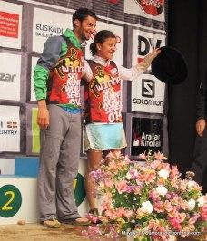 Kilian Jornet y Stevie Kremer, campeones Copa del Mundo Skyrunning 2014 Skyrace