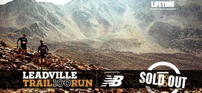 Leadville 100 Miles trail run by New Balance