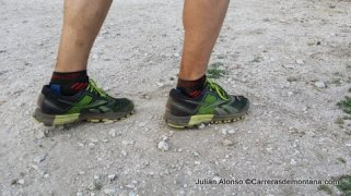 Zapatillas trail running Reebok One Cushion terreno de las pruebas