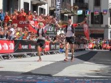 Iker Karrera y Tófol Castanyer entran segundos en UTMB14.
