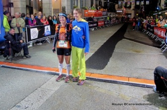 CCC 2014: Campeona Anne-Lise Rouset. 2ª Tina Bes.