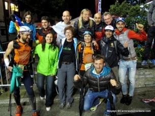 Alegría en el grupo de apoyo. Girona power :)