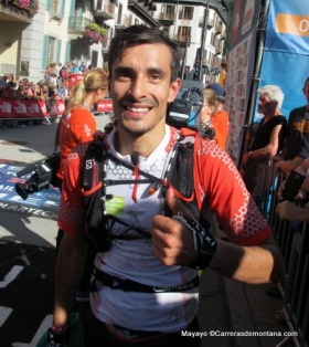 UTMB 2014: Diego Pazos 11º