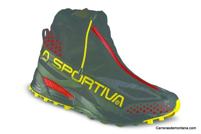 Zapatillas La Sportiva Crossover 2.0 GTX black_yellow