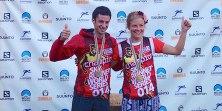 Kilian Jornet y Emelie Forsberg campeones skyrunning ultra 2014. Foto: Skyrunning