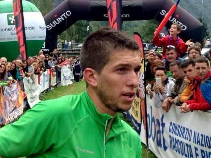Manuel Merillas líder copa del mundo skyrunning ultra Foto skyrunning