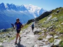 Tour Mont Blanc: Sendero del Lac Blanc al Brevent.