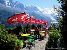 La Floria, en descenso La Flegere a Chamonix