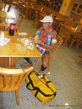 Salva Calvo, 4º en Valgrisanche 49k