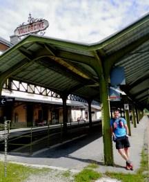Estación tren Vallorcine