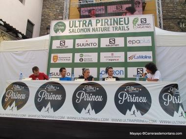 Ultra Pirineu 2014: Presentación en Bagá.