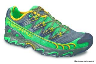 zapatillas La Sportiva Ultra Raptor green-grey (16UGG)
