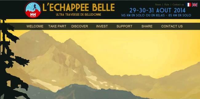 Ultra trail Echapeebelledonne 2014