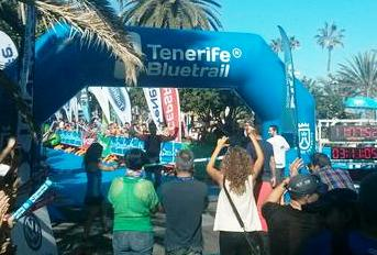 Luis Alberto Hernando campeón Tenerife Blue trail. Foto: @Serginho_AG