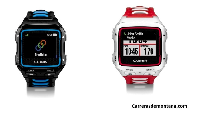 Garmin 920xt reloj gps  familia Garmin Forerunner