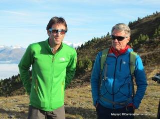 Hervé Barmasse y Peter Habeler guías de lujo para probar las Gore tex surround