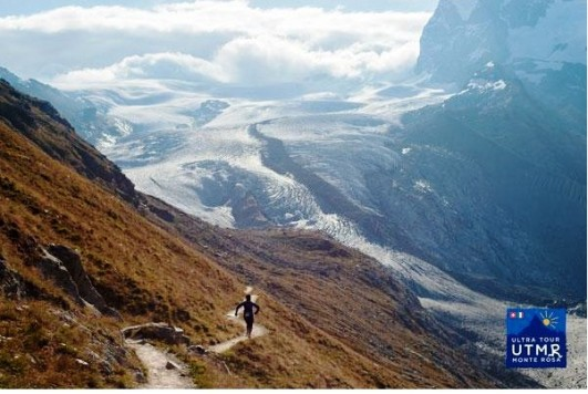 Ultra trail Monte Rosa 2015 paisaje. Foto: @ultramonterosa