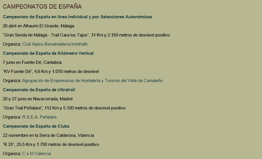 calendario kilometro vertical 2015