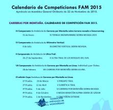 Carreras Montaña Andalucia 2015 Federacion Andaluza Montañismo