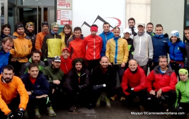 Entrenamiento trail running con David López Castán en GR10 trail madrid