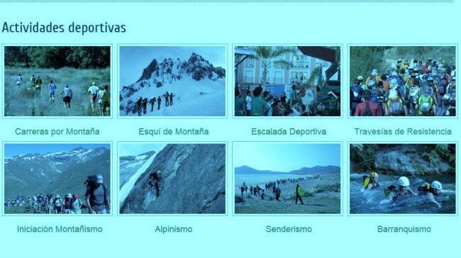 Federacion Andaluza Montañismo Actividades 2015
