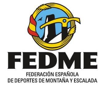 Federacion española deportes montaña y escalada logo