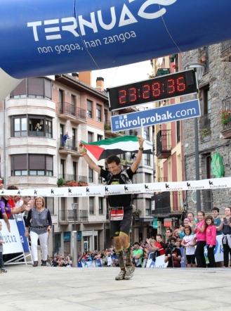 Javi Domínguez Ledo, campeón Ehunmilak 2014
