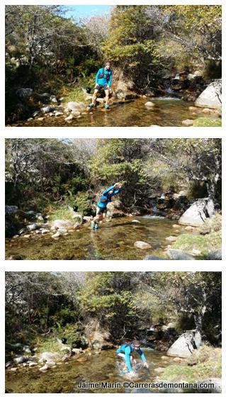 Mochila trail running Inov 8 race vest La Pedriza
