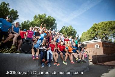 Foto de familia:  Todos los finalistas de Transmallorca Run 2014