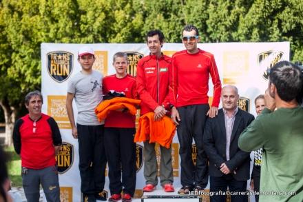 Miguel y Roberto Heras: Líderes por equipos y primeros absolutos en cruzar hoy la meta.