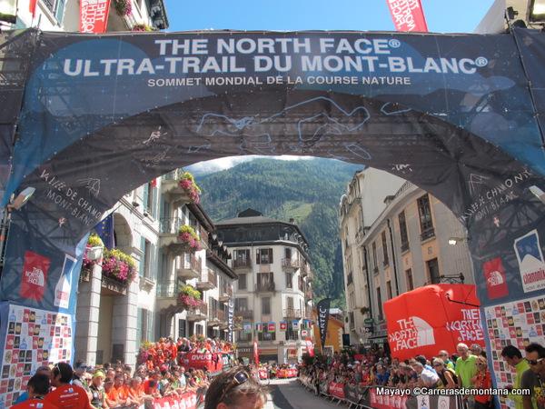 Meta UTMB 2014: La última edición bajo logo The North Face.