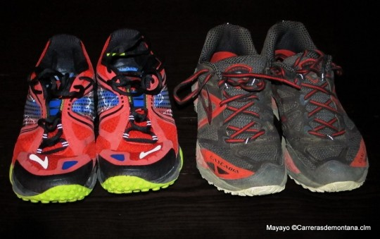 Brooks Pure Grit 3 y Brooks Cascadia 9