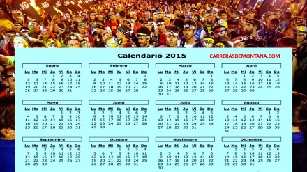Calendario Carreras Montaña 2015: Clica aquí para ver las mejores carreras.