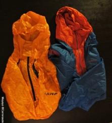 Cortavientos Camp flash anorak y La Sportiva Oxygen jacket