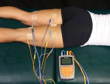 Electroestimulacion muscular. Foto: Wikipedia