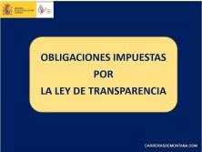 FEDME Obligaciones transparencia