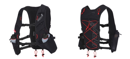 Mochila trail Inov8 Race Ultra vest Black-Red
