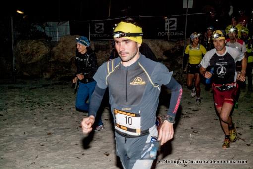 David Lopez Castán arrancando la etapa 2 de Transmallorca Run 2014.