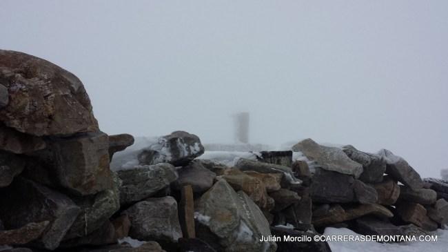 Cima del Moncayo en pleno invierno. (2.134m)