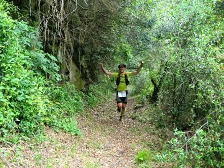 Apuko Extrem: Gaizka Barañano en pleno monte. Foto: Urko Villabona.