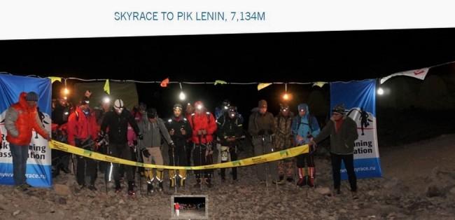 Salida Lenin Skyrace 2014. Foto: Dynafit
