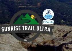Madrid Trail 2014 Sunrise Trail Ultra 68 Logo