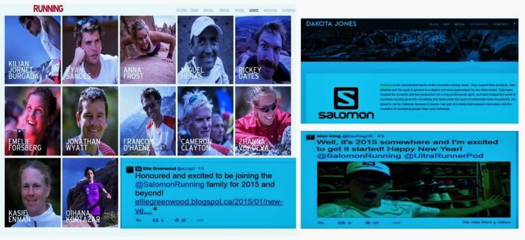 Salomon 2015: Algunos de los veteranos y los tres nuevos fichajes
