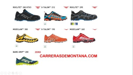 Zapatillas Inov8 Mountain running 9ene15 2